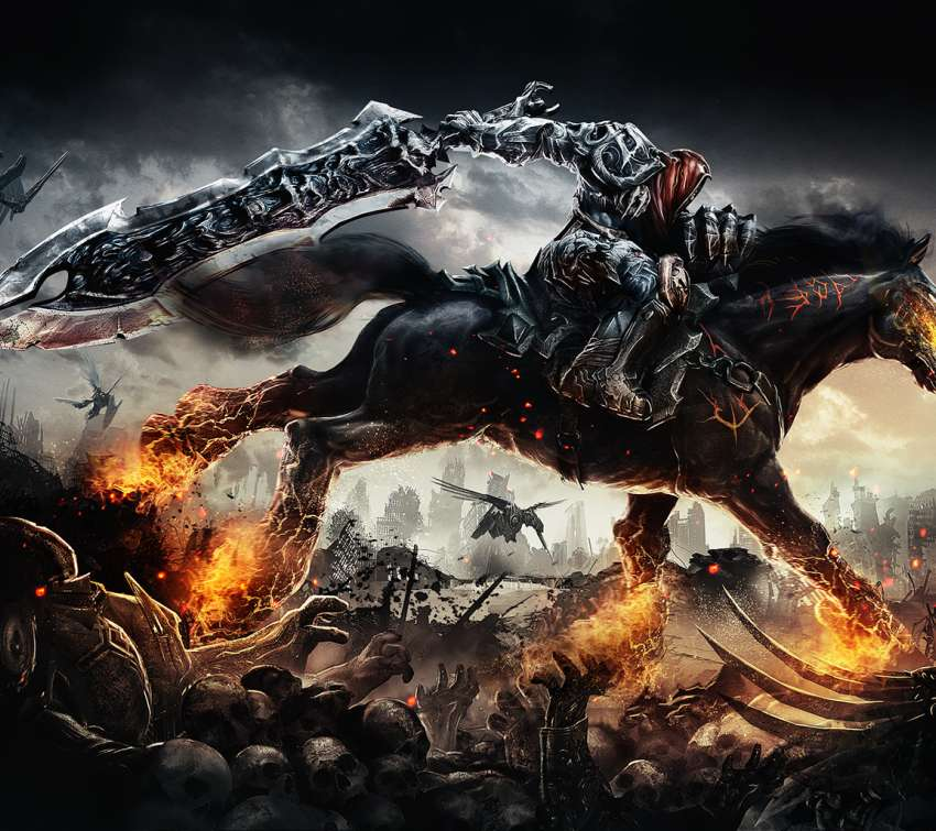 Darksiders: Wrath of War Mobile Horizontal wallpaper or background