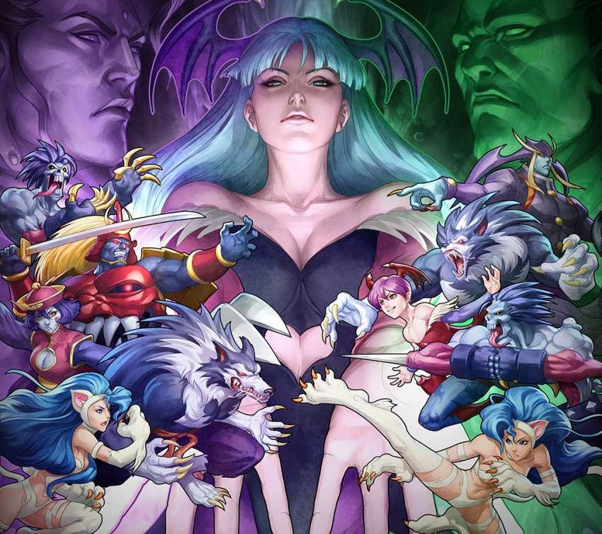 Darkstalkers Resurrection wallpaper or background