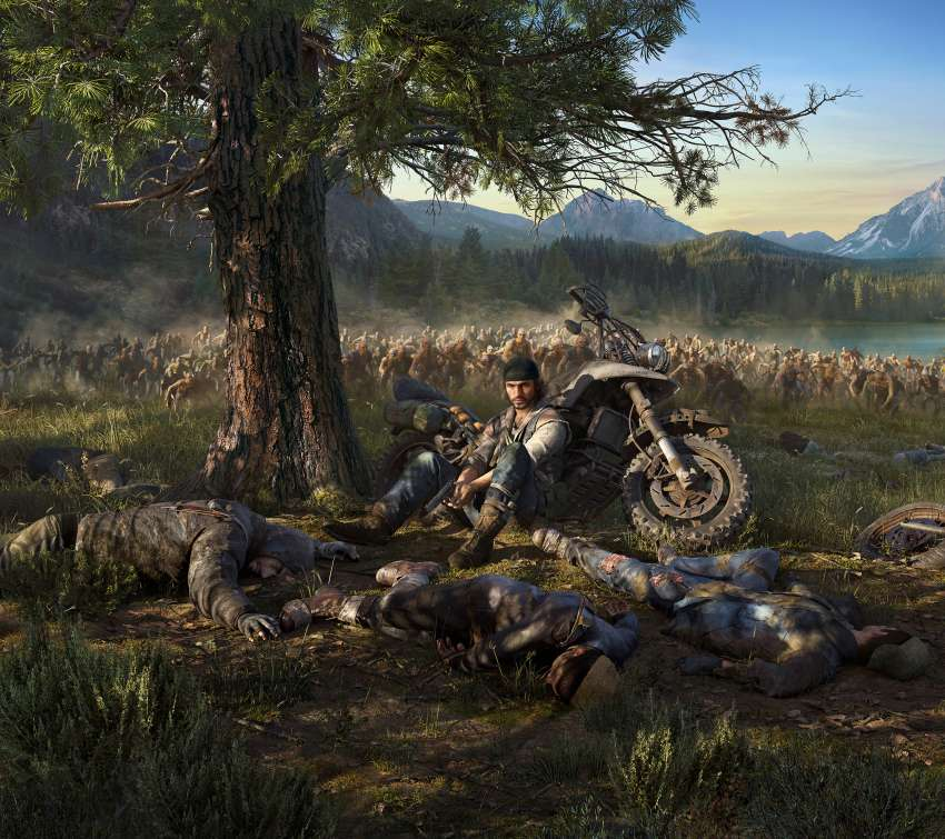 Days Gone Mobile Horizontal wallpaper or background
