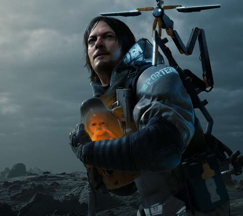 Death Stranding Mobile Horizontal wallpaper or background