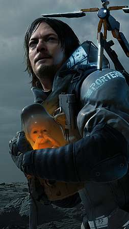 Death Stranding Mobile Vertical wallpaper or background