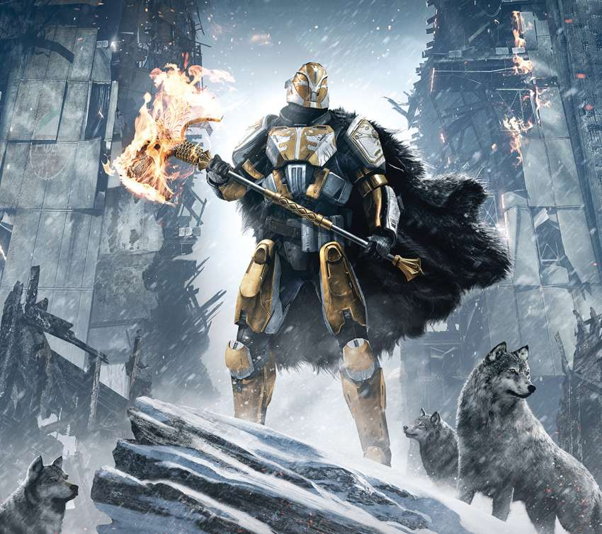 Destiny: Rise of Iron Mobile Horizontal wallpaper or background