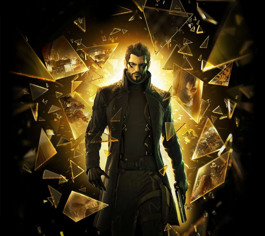 Deus Ex: Human Revolution Mobile Horizontal wallpaper or background