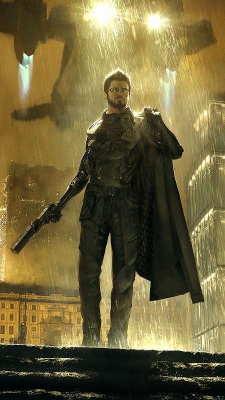 Deus Ex: Mankind Divided Mobile Vertical wallpaper or background