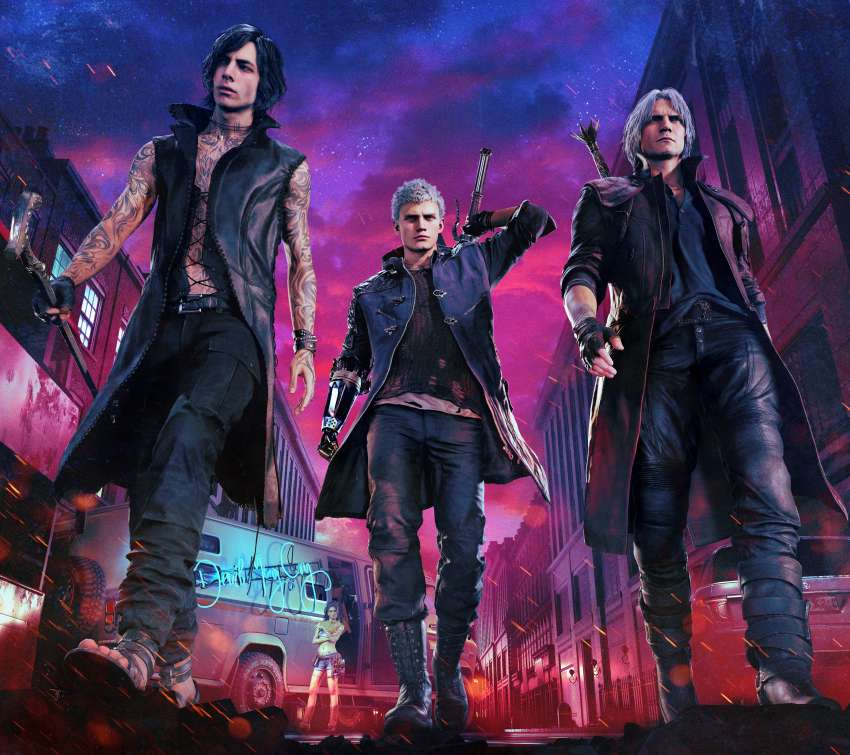 Devil May Cry 5 Mobile Horizontal wallpaper or background
