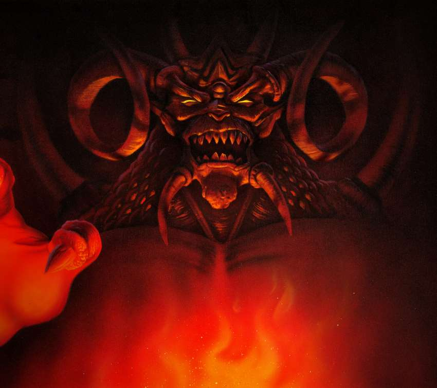 Diablo Mobile Horizontal wallpaper or background