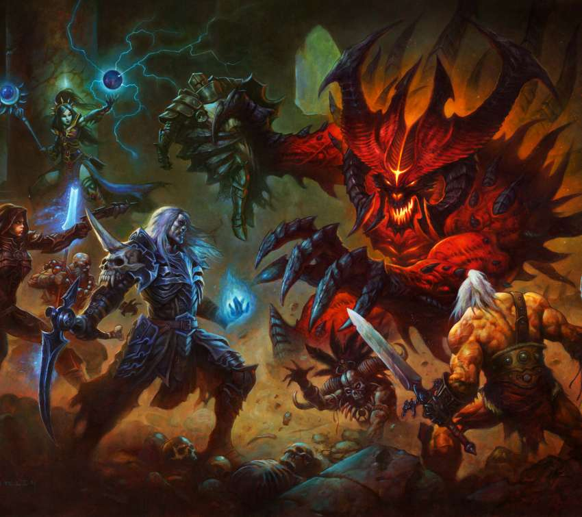 Diablo 3 Mobile Horizontal wallpaper or background