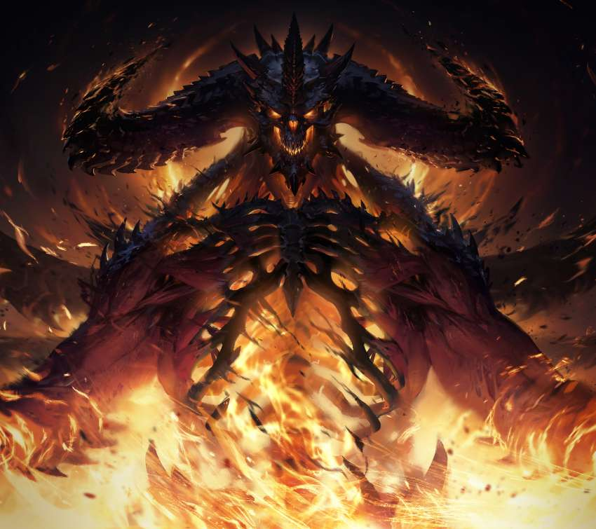 Diablo Immortal Mobile Horizontal wallpaper or background