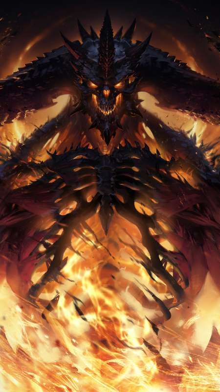 Diablo Immortal Mobile Vertical wallpaper or background