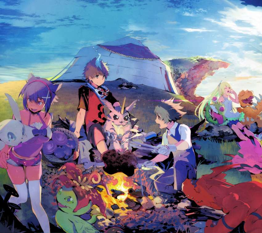 Digimon World: Next Order Mobile Horizontal wallpaper or background