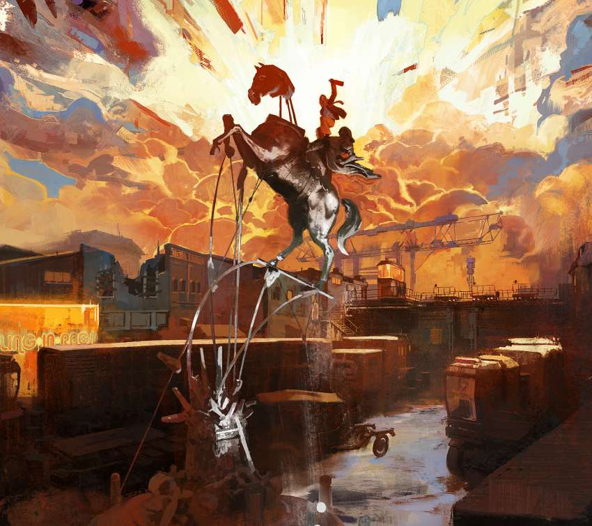 Disco Elysium Mobile Horizontal wallpaper or background