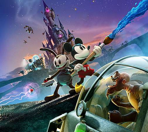 Disney Epic Mickey 2: The Power of Two Mobile Horizontal wallpaper or background