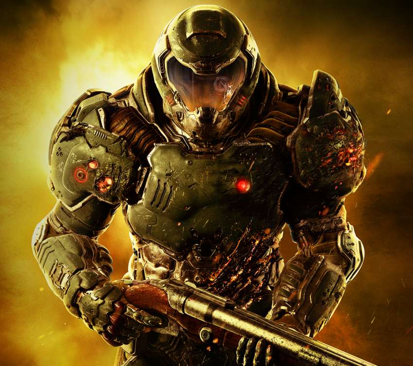 Doom Mobile Horizontal wallpaper or background