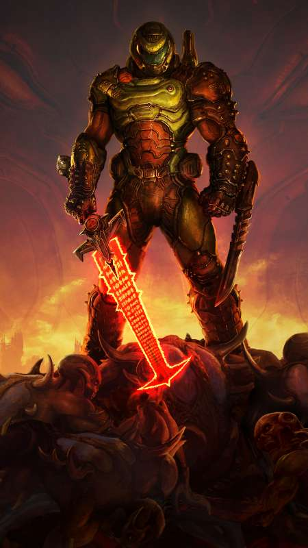 Doom Eternal Mobile Vertical wallpaper or background