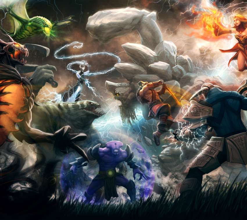 Dota 2 wallpaper or background