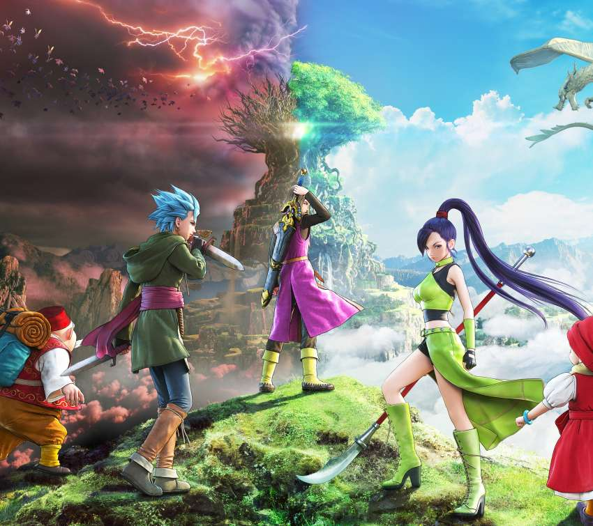 Dragon Quest XI: Echoes of an Elusive Age Mobile Horizontal wallpaper or background