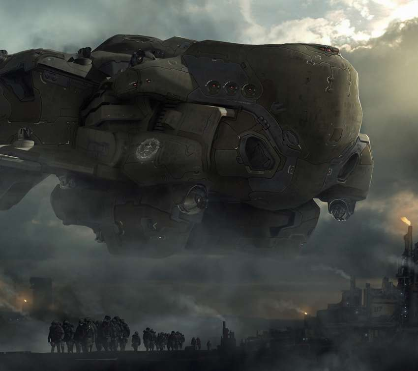 Dreadnought Mobile Horizontal wallpaper or background