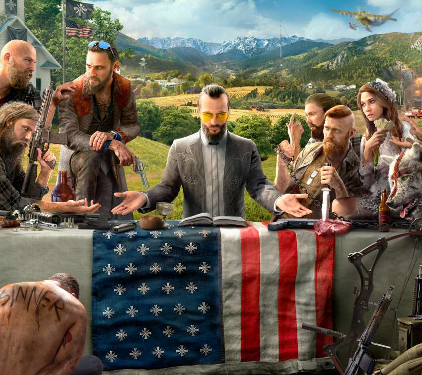 Far Cry 5 Mobile Horizontal wallpaper or background