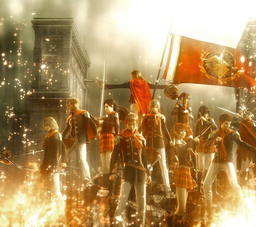 Final Fantasy Type-0 wallpaper or background