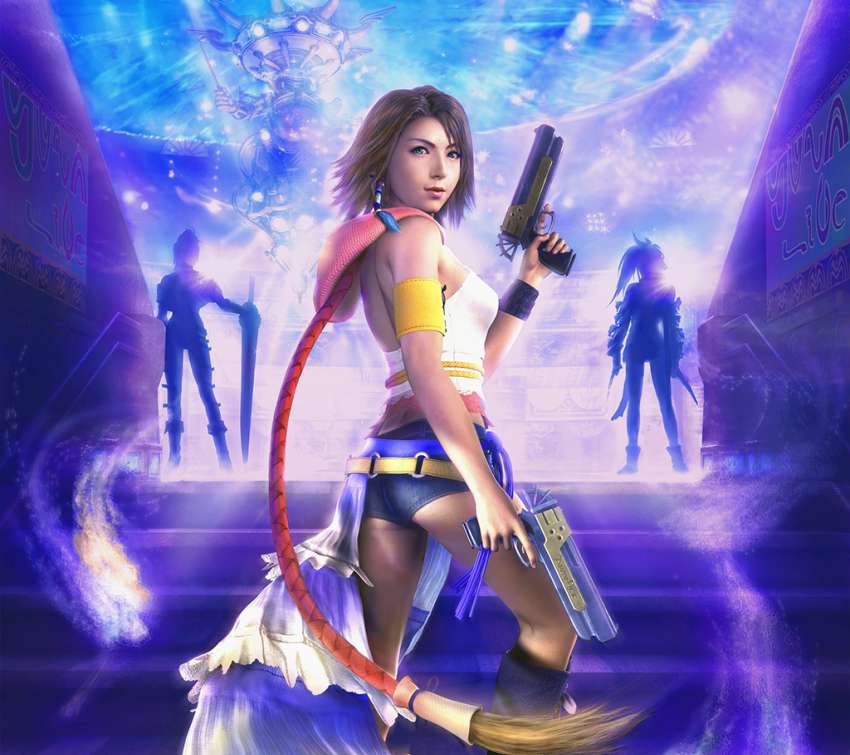 Final Fantasy X-2 wallpaper or background