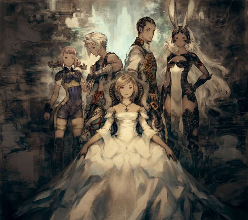 Final Fantasy XII The Zodiac Age Mobile Horizontal wallpaper or background
