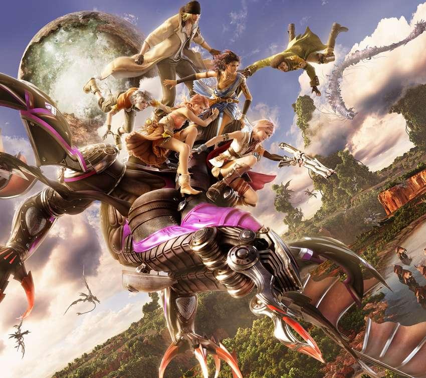 Hd Final Fantasy Wallpaper: Final Fantasy XIII Wallpapers Or Desktop Backgrounds