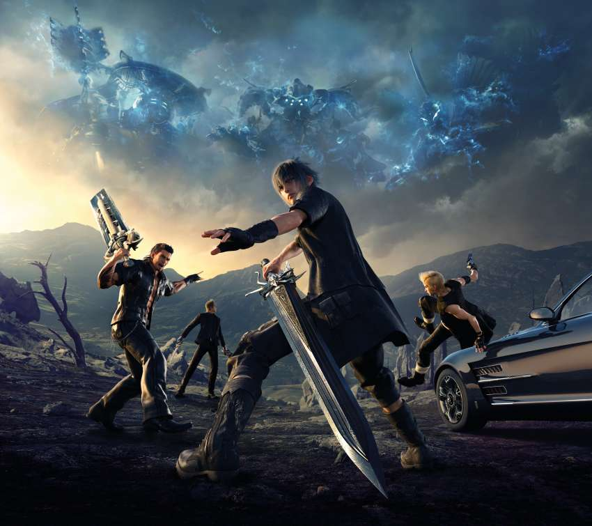 Final Fantasy XV Mobile Horizontal wallpaper or background