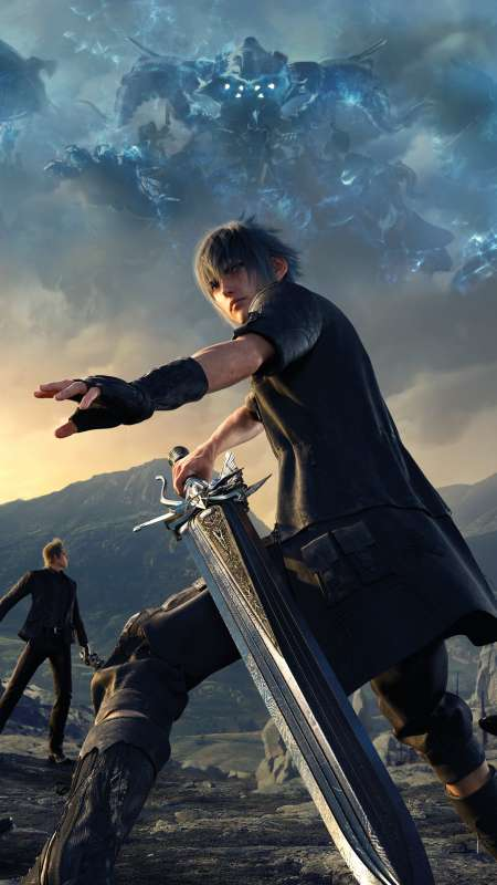 final fantasy xv wallpapers or desktop backgrounds