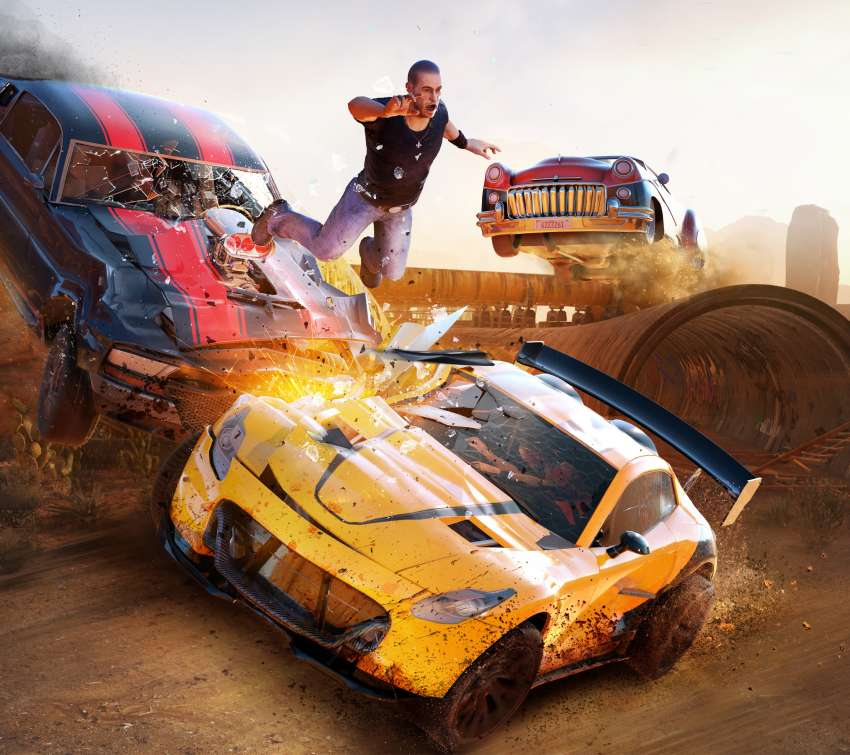 FlatOut 4: Total Insanity Mobile Horizontal wallpaper or background