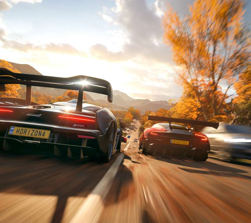 Forza Horizon 4 Mobile Horizontal wallpaper or background