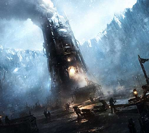 Frostpunk Mobile Horizontal wallpaper or background