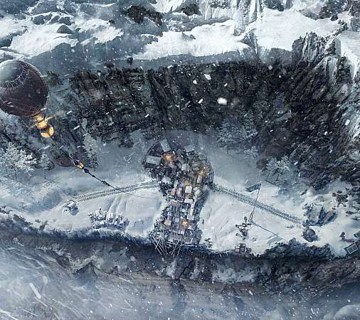 Frostpunk: On the Edge Mobile Horizontal wallpaper or background