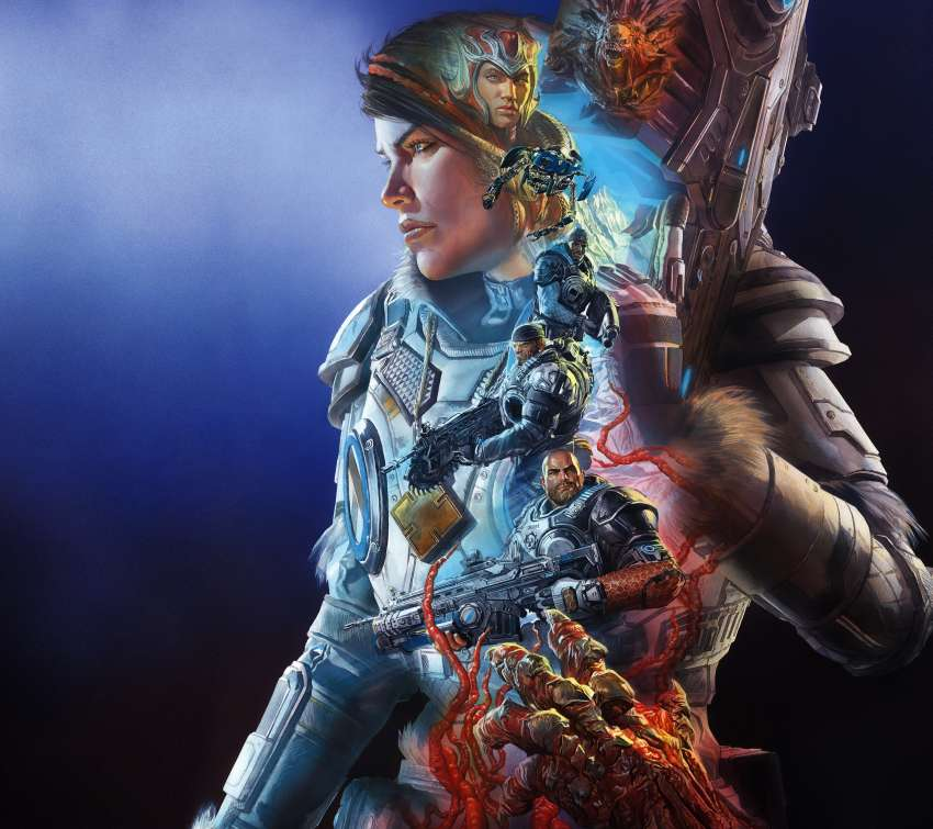 Gears 5 Mobile Horizontal wallpaper or background