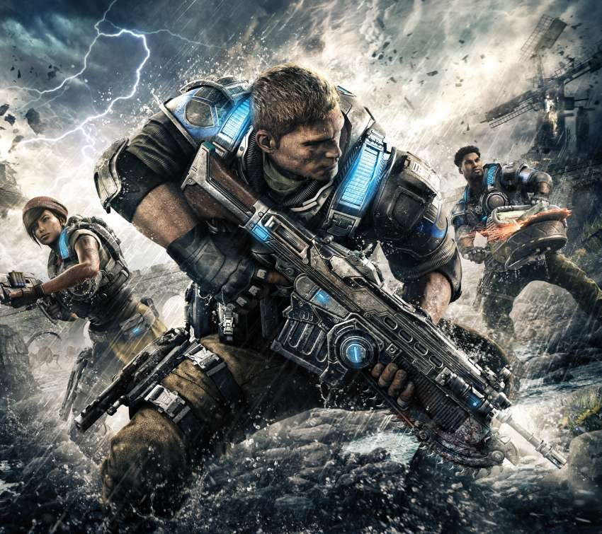 Gears of War 4 Mobile Horizontal wallpaper or background