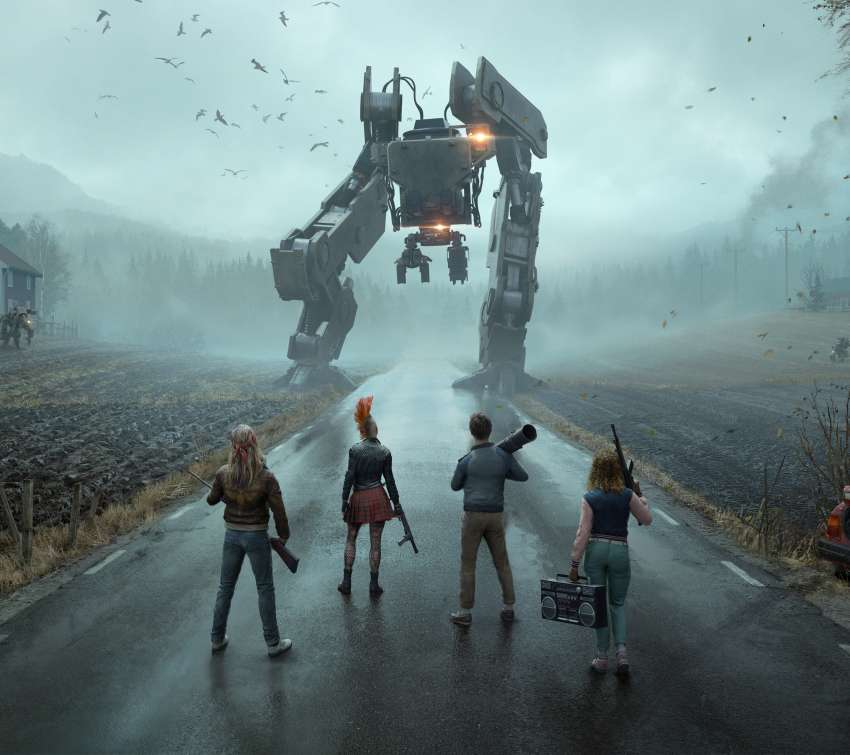 Generation Zero Mobile Horizontal wallpaper or background
