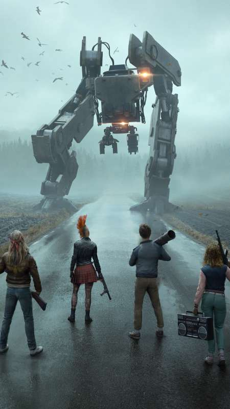 Generation Zero Mobile Vertical wallpaper or background