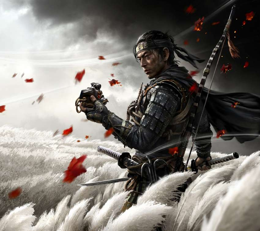 Ghost of Tsushima Mobile Horizontal wallpaper or background