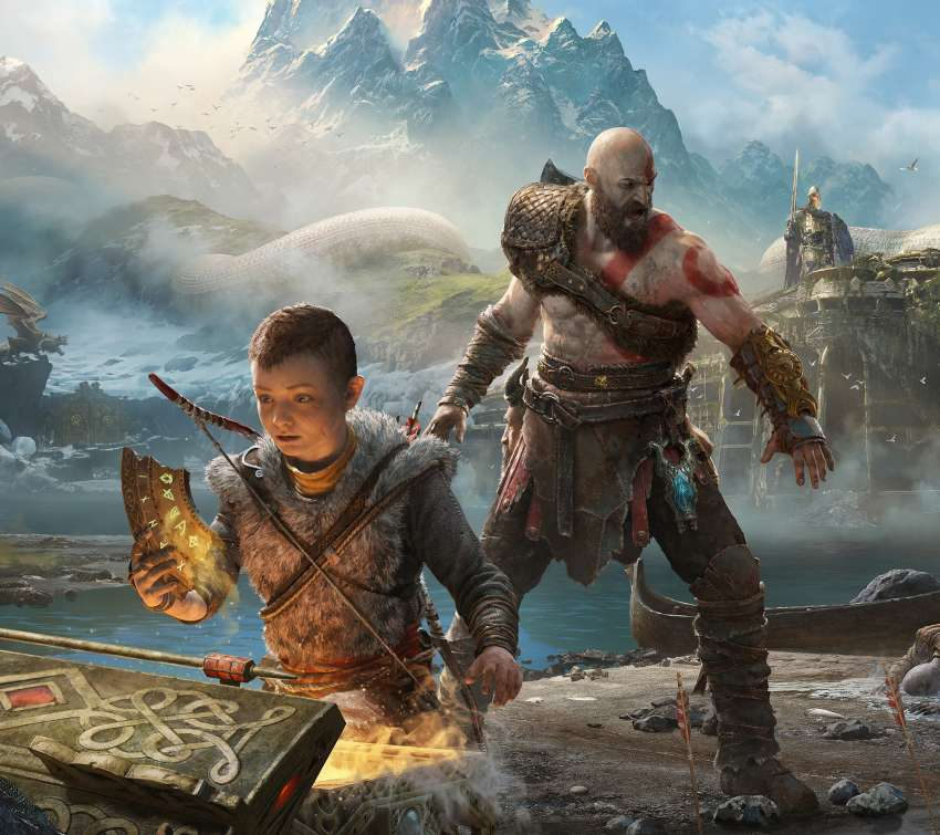 God of War 2017 wallpaper or background