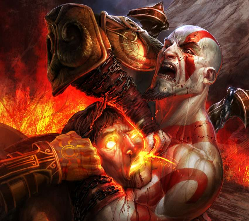 God of War 3 wallpaper or background