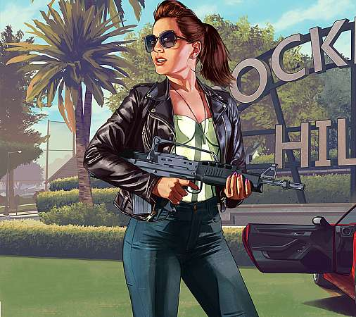 Grand Theft Auto 5 Mobile Horizontal wallpaper or background