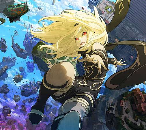 Gravity Rush 2 Mobile Horizontal wallpaper or background