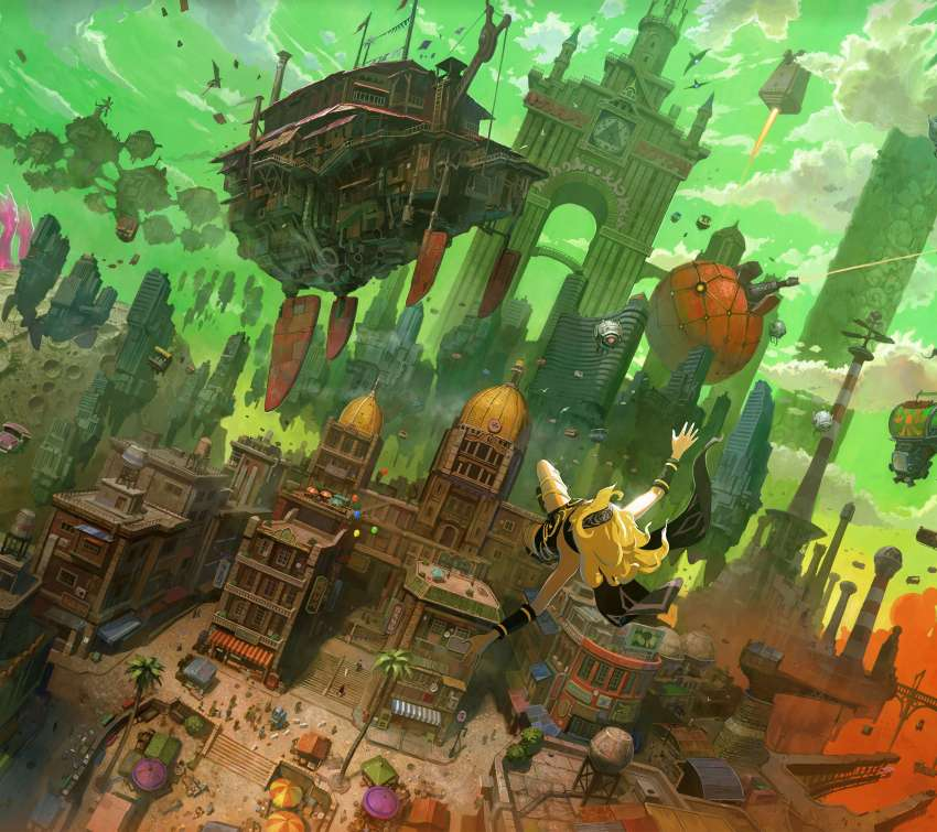 Gravity Rush Remastered Mobile Horizontal wallpaper or background