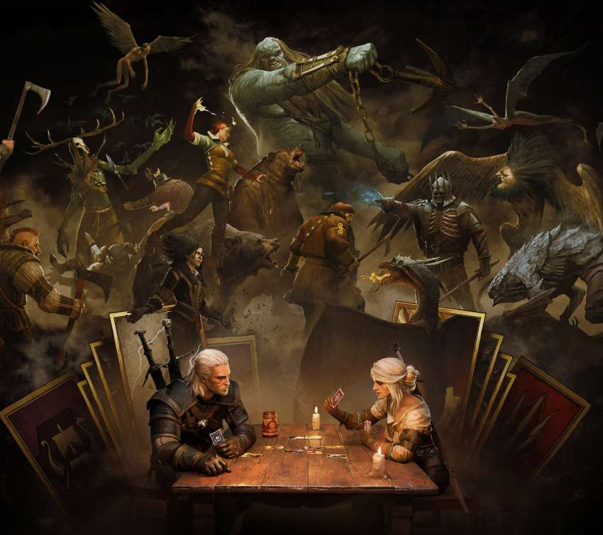 GWENT: The Witcher Card Game Mobile Horizontal wallpaper or background