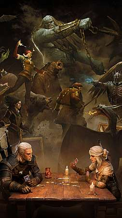 GWENT: The Witcher Card Game Mobile Vertical wallpaper or background