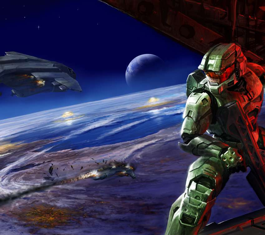 Halo 2 Mobile Horizontal wallpaper or background