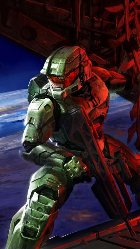 Halo 2 Mobile Vertical wallpaper or background