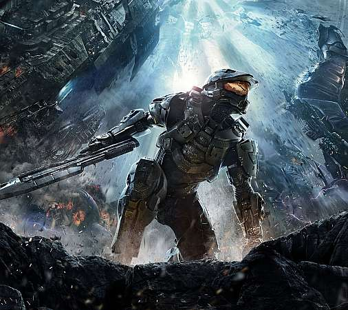 Halo 4 Mobile Horizontal wallpaper or background
