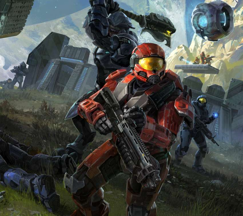 Halo: Reach Mobile Horizontal wallpaper or background