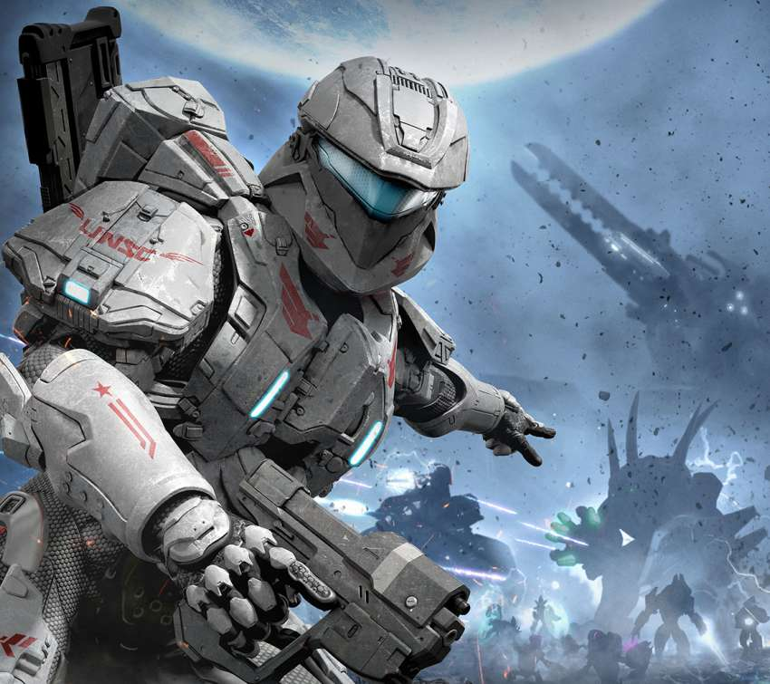 Halo: Spartan Assault Mobile Horizontal wallpaper or background
