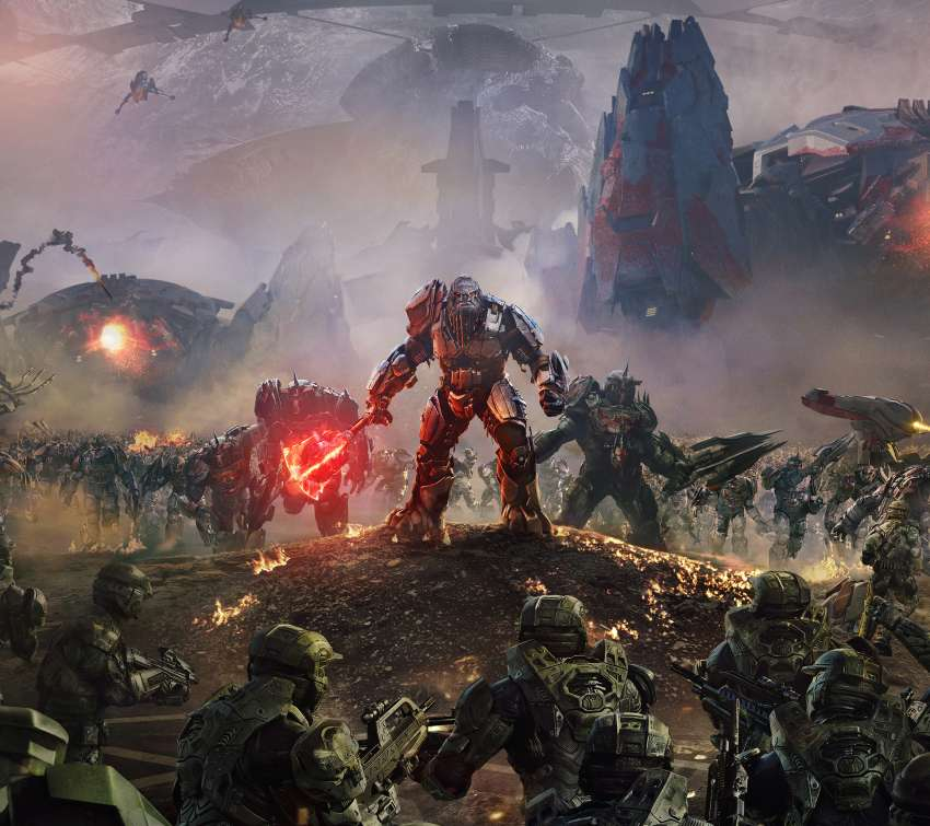 Halo Wars 2 Mobile Horizontal wallpaper or background
